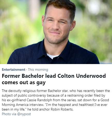 The Bachelors are GAY!